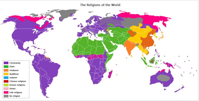 jumlah pemeluk agama terbanyak di dunia rh tumoutounews com