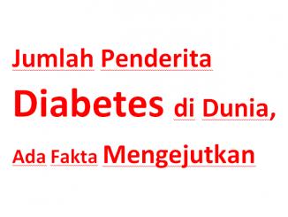 Jumlah Penderita Diabetes di Dunia Meningkat Tajam