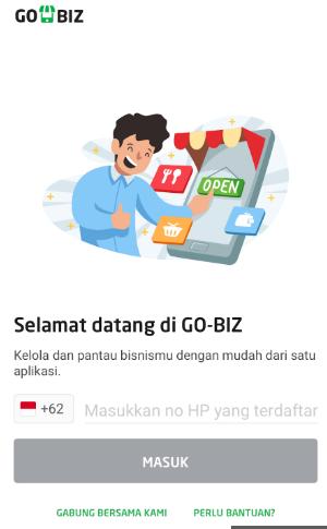 APLIKASI GO-BIZ