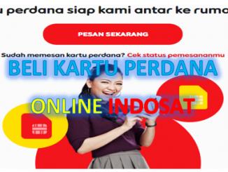 Cara membeli kartu perdana Indosat online