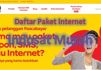 Cara daftar paket internet Indosat murah terbaru tahun 2020