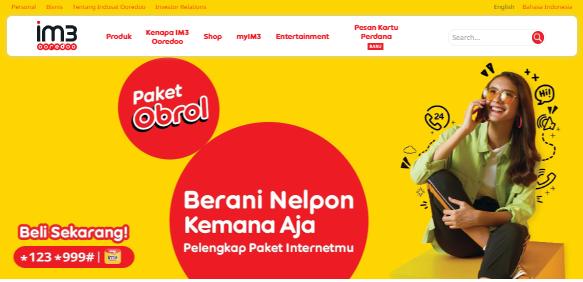 Cara Daftar Paket Obrol Indosat 2020. Nelpon GRATIS