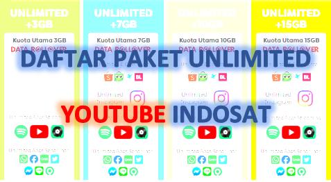 Cara Daftar Paket Unlimited Youtube Indosat 2020 Tumoutounews