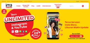 Cara menggunakan kuota utama Indosat Unlimited