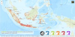 Sebaran jaringan Indosat 2G, 3G, 4G, bahkan 5G di Indonesia dari nperf