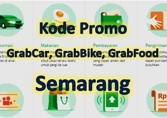 Kode promo GrabCar, GrabBike, dan GrabFood di Semarang tahun 2020