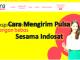 Cara untuk mengirim pulsa ke sesama pengguna Indosat tahun 2020
