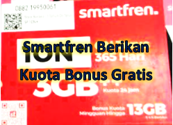 Dampak Korona, Smartfren Berikan Kuota Bonus Gratis