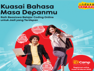 Indosat Berikan Beasiswa IDCamp, Kuota 10.000 Pendaftar