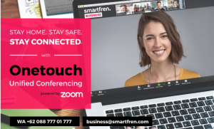Smartfren meluncurkan layanan OneTouch Unified Conferencing yang didukung Zoom