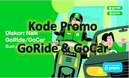 Kode Promo Goride Gocar Maret 2020 Tumoutounews