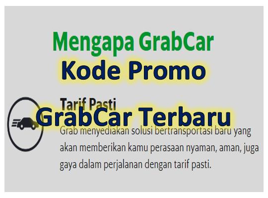Kode Promo Grabcar Maret 2020 Tumoutounews