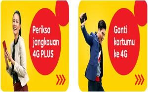 Cara upgrade kartu Indosat 3G ke 4G tahun 2020