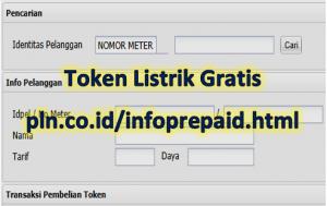 Login melalui layanan pln.co.id infoprepaid.html login