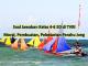 Soal jawaban nilai moral, pelestarian, dan cara pembuatan perahu Jong untuk siswa SD kelas 4 sampai 6 SD di TVRI