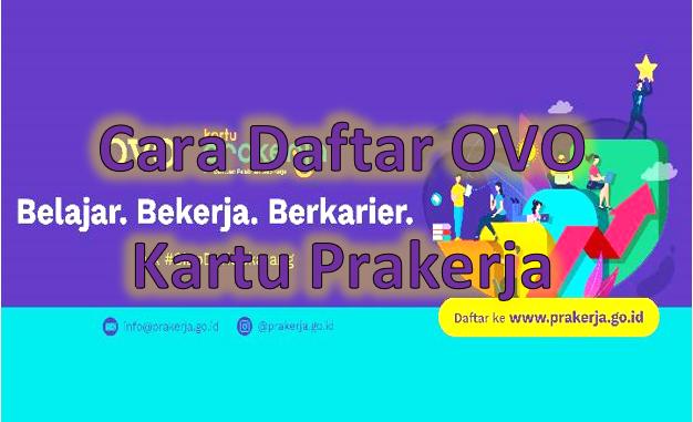 OVO menjadi dompet digital yang dipercayakan pemerintah sebagai e-wallet program Kartu Prakerja