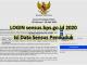 LOGIN sensus.bps.go.id 2020, Isi Data Sensus Penduduk Online
