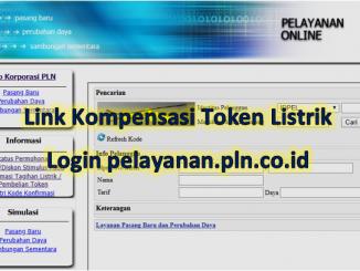 Link kompensasi PLN token listrik login pelayanan.pln.co.id