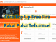 Cara top up Free Fire Pakai Pulsa Telkomsel