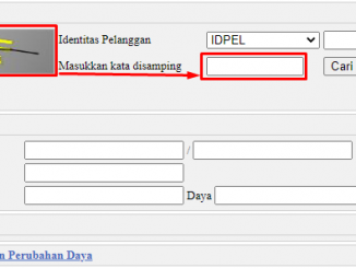 LOGIN pln.co.id