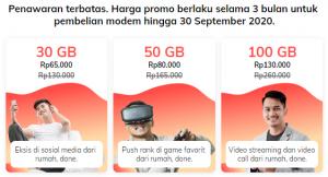 Paket Internet Orbit Telkomsel